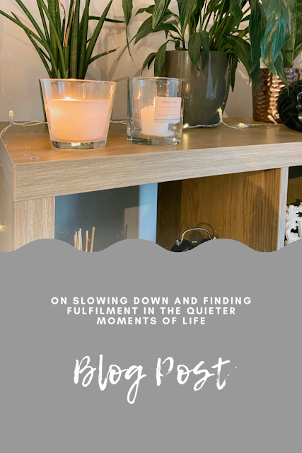 Slow Living Tips and Advice Pinterest Image