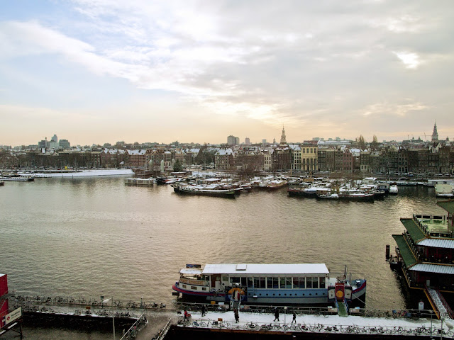 Amsterdam desde la Openbare Bibliotheek