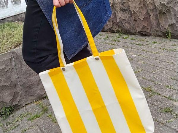 Shopper Bag DIY Pattern + Tutorial