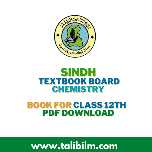 Sindh Textbook Board Chemistry Book For class 12th