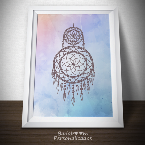 Arte para imprimir para Pôster Filtro dos Sonhos