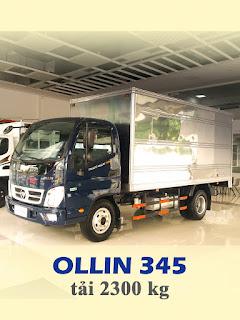 xe tải thaco ollin 345 tải trọng 2,4 tấn