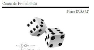 probabilité pour économiste, cours de probabilité s3 économie,