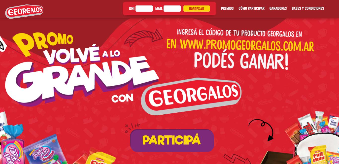 Promo Georgalos Argentina 2021