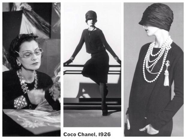 Маленькое чёрное платье -простота, универсальность, шик! лучшее платье Коко Шанель, женская классическая мода,