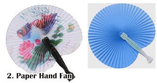 Paper Hand Fan merupakan salah satu jenis kipas promosi yang cocok untuk dijadikan souvenir