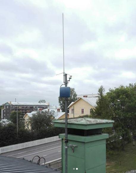 RV antenni kytkennät