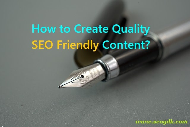 SEO Friendly Content Creation