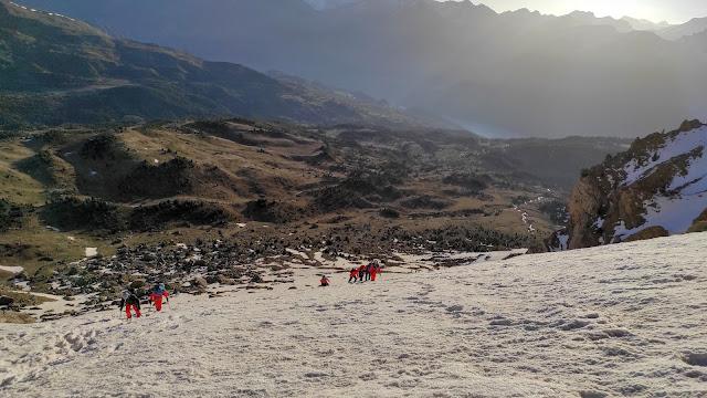 Corredor Maribel D+ 350m, Peña Telera.