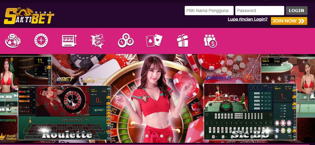 SAKTIBET situs bandar bola online live casino slotgame paling benefit dan terpercaya