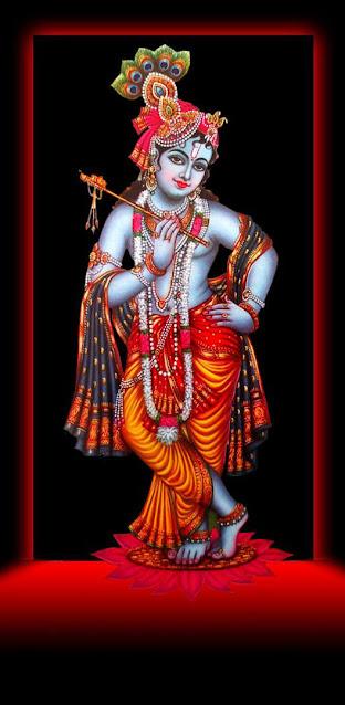krishna bhagwan iphone wallpaper download HD