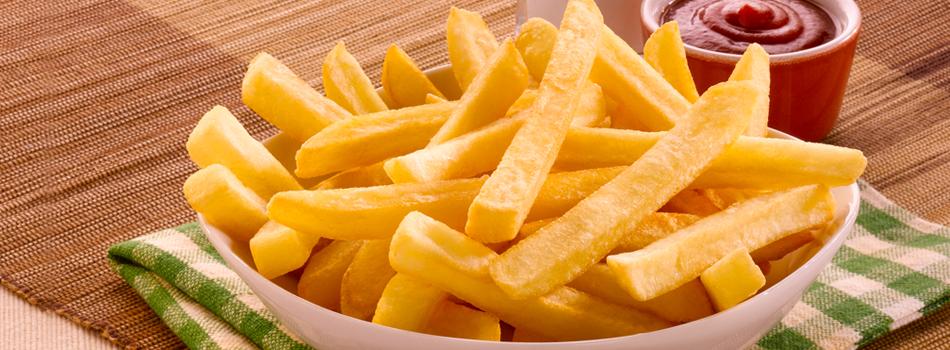 batata frita envelhece o corpo
