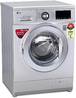 LG 8 Kg 5 Star Inverter Fully Automatic Front Load Washing Machine (FHM1208ZDL)