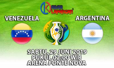 Prediksi Bola Venezuela vs Argentina 29 Juni 2019