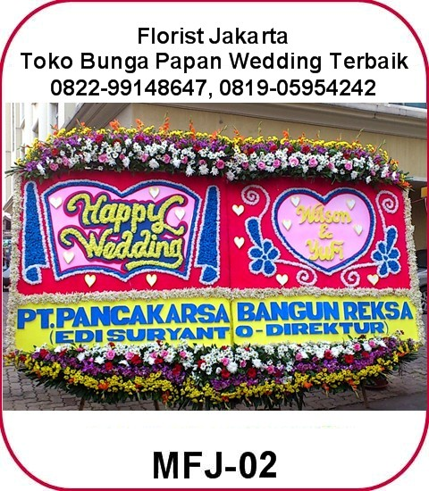 TOKO BUNGA JAKARTA TIMUR - Bunga Happy Wedding