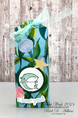 Jump in the big crafting waters with this month's online Crafty Corner Bundle class featuring the Shark Frenzy Bundle from Stampin' Up!  Click here