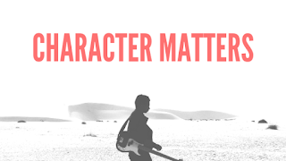 Your character about health and wealth matters