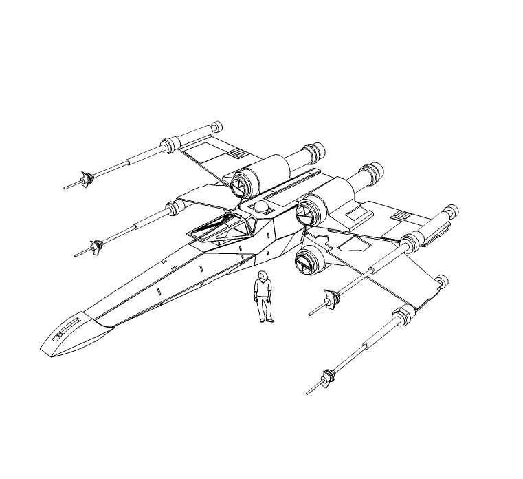 Star Wars X Wing Fighter Schematics – Quotes of the Day X Wing Schematics on