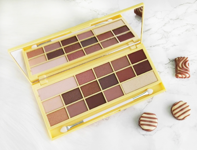 I Heart Makeup Naked Chocolate Eyeshadow Palette