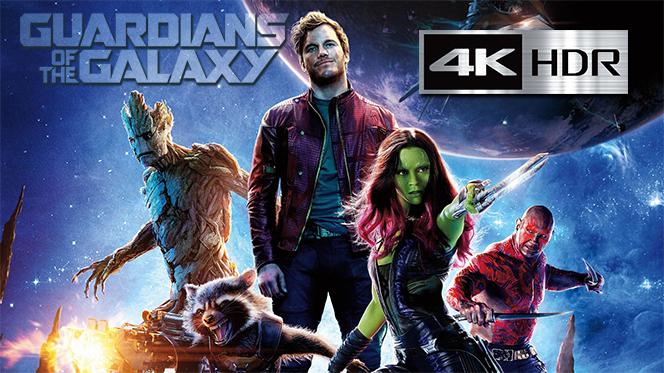 Guardianes de la Galaxia (2014) 4K UHD [HDR] Latino-Castellano-Ingles