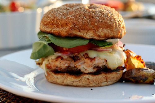Spokane Dinner Club: Spicy Chipotle Turkey Burgers