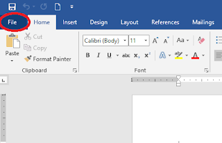 Cara Membuat Password Di Microsoft Word 2007, 2010, 2013 dan 2016