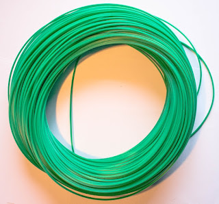 green rotacane plastic basket cane