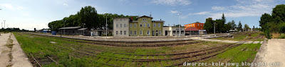 dworzec kolejowy Trzebiatów
