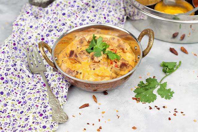 curry z burakiem