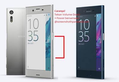 Screenshot Sony Xperia XZ images