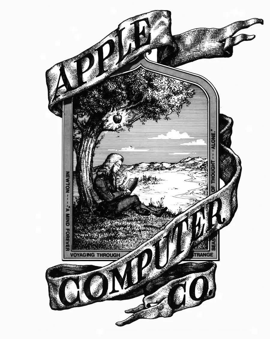 Logo đầu tiên của Apple không giống như những gì bạn nghĩ.