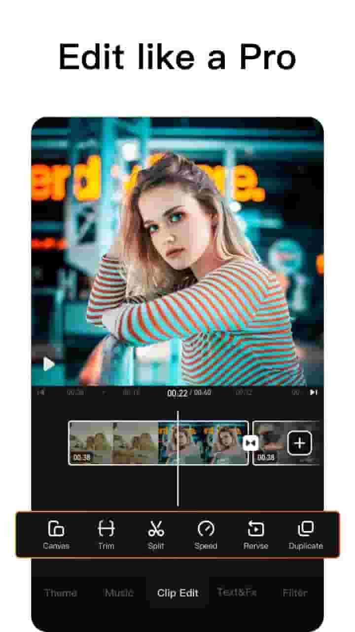 Free Video Editing App for Android