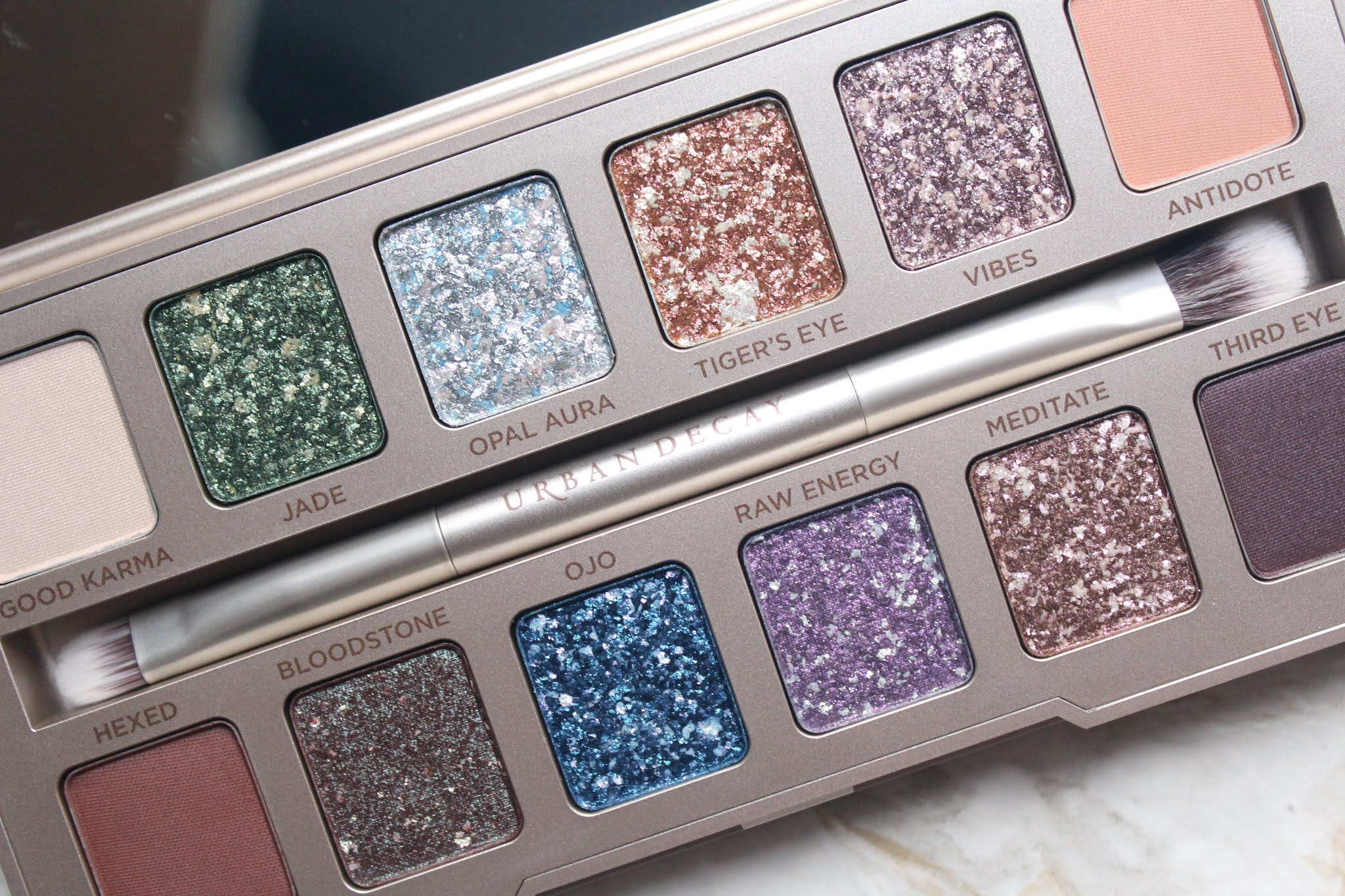 Urban Decay Stoned Vibes Eyeshadow Palette Review & Swatches