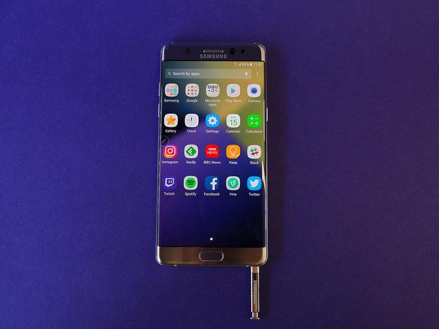 هواتف نوت 7 الجديدة تعاني أيضا من مشاكل تتعلق بالبطارية