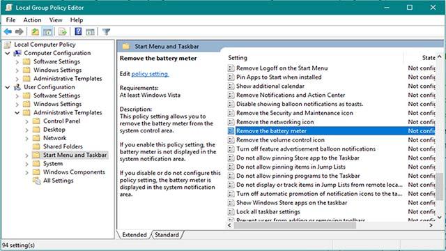 Mengatasi Icon Baterai Hilang Atau Tidak Muncul Pada Laptop Windows 10