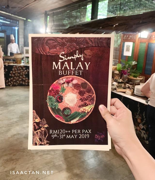 Simply Malay Buffet @ Bijan Restaurant, Jalan Ceylon