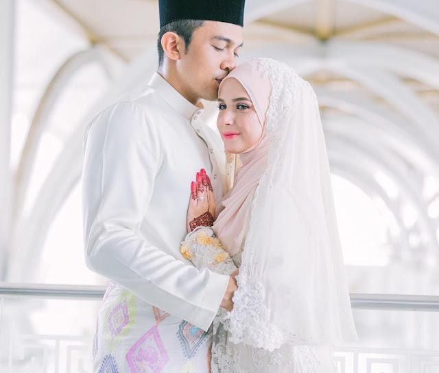 Gambar Pernikahan Saharul Ridzwan