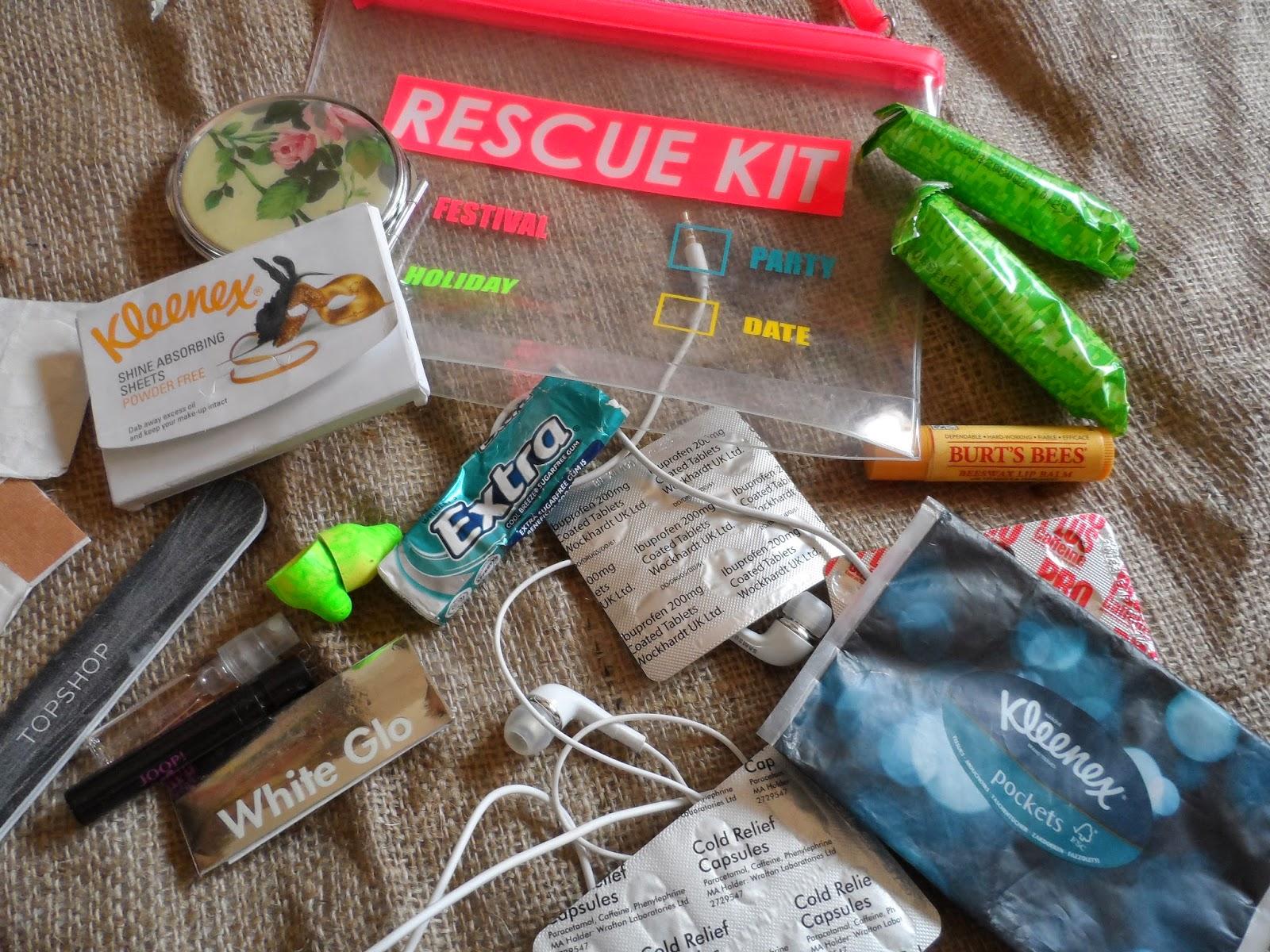 Handbag Survival Kit