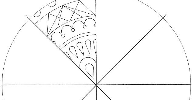 Visual Arts: Working with Radial symmetry