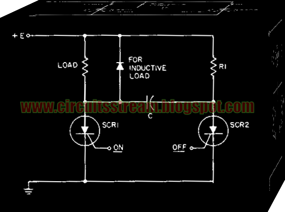 Simple Dc Static Switch Circuit Diagram