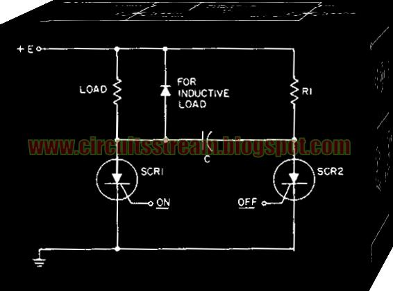 simple dc static switch circuit diagram