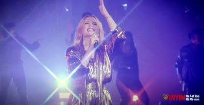 "Kylie Minogue Radiates Performing ""Say Something"" Featuring INYIM Media Regulars, The House Gospel Choir!"