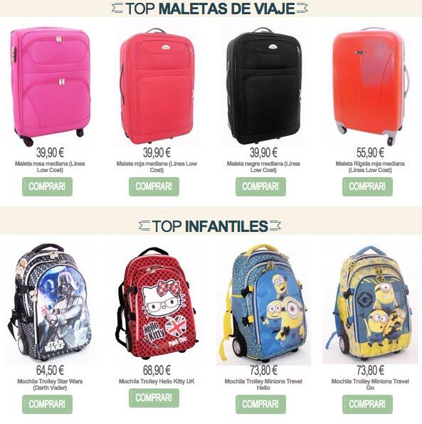 Las maletas de MOSTACHUS Traveler