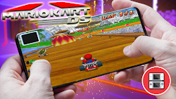 Mario Kart DS Para Teléfonos Android (ROM NDS)