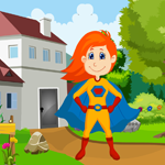 Games4King Superhero Kid Rescue Escape Walkthrough