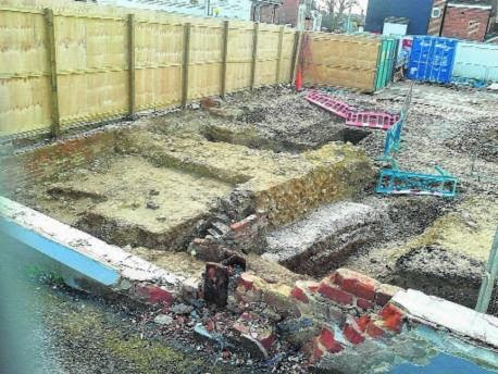 Developers destroy 2,000-year-old Roman wall