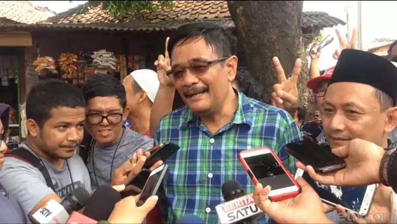 Djarot dan Ketua DPW PKB DKI Hasbiallah Ilyas