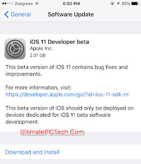 How to Install iOS 11 Beta 6 without Developer Account?