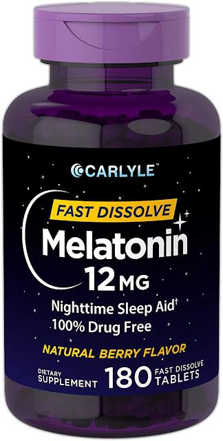 Carlyle Melatonin Tablets