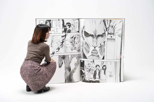 Titan-Sized Manga Attack on Titan Sold Out in 2 Minutes!